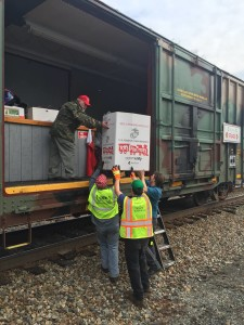 Toys for Tots - Train