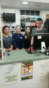 Student Volunteers from Eisenhower, Ramapo, and Don Bosco